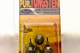 Tungsten Round Ball Drop Shot Sinkers from Pur.Tungsten