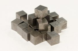 "Pinewood Derby Car Tungsten Cube Weights (2 oz Total, 12 Pk 0.25"" x 0.25"" x 0.25"")"