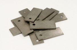 Tungsten incremental plate weights