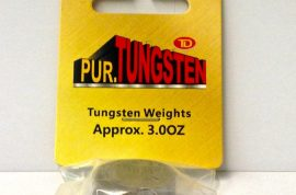 "Pinewood Derby Tungsten Weights 3 oz 1"" Dia x 0.375"" Thick Cylinder"